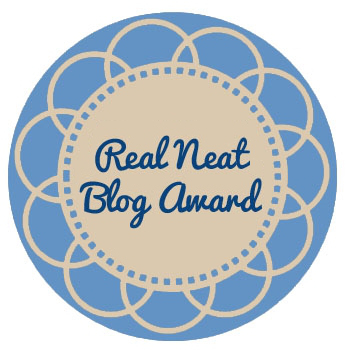 Image result for real neat blogger award