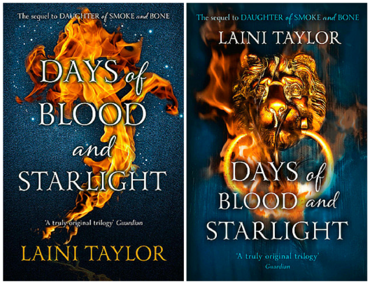 Days of Blood and Starlight cover UK
